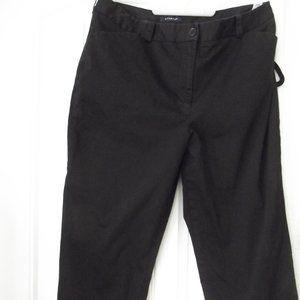 Jones New York Black Capri Pants Size 14